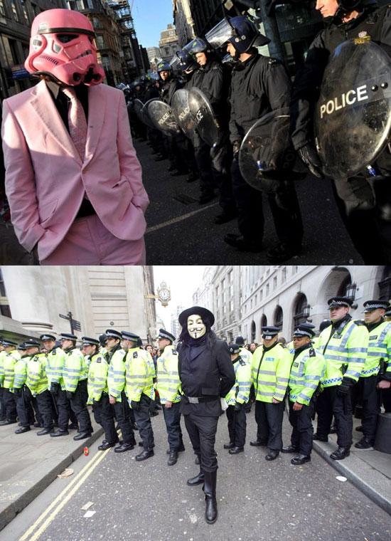 G20 protestors 2009