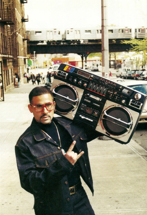 ghetto blaster dude is the man